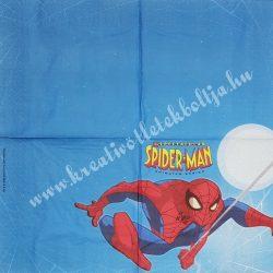 Szalvéta, Disney-mintás 10., Spiderman, 33x33 cm