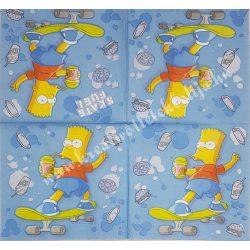 Szalvéta, Disney-mintás, Simpson család, 33x33 cm (11)