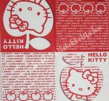 Szalvéta, Disney-mintás, Hello Kitty, 32x32 cm, 1 darab