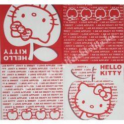 Szalvéta, Disney-mintás 22., Hello Kitty, 33x33 cm