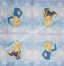 Szalvéta, Disney-mintás, Barbie, 32x32 cm, 1 darab