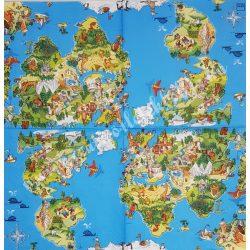Szalvéta, Disney-mintás 27., Sziget, 33x33 cm