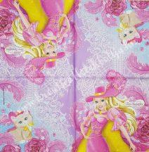 Szalvéta, Disney-mintás, Chuggington, 32x32 cm, 1 darab