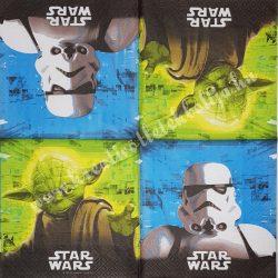 Szalvéta, Disney-mintás 37., Star Wars, 33x33 cm
