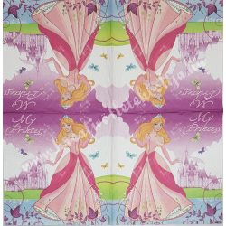 Szalvéta, Disney-mintás, My Princess, 33x33 cm (40)