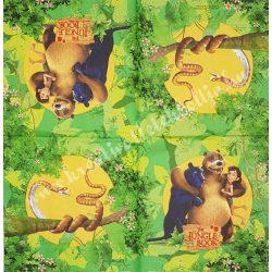 Szalvéta, Disney-mintás 9. Dzsungel könyve, 33x33 cm