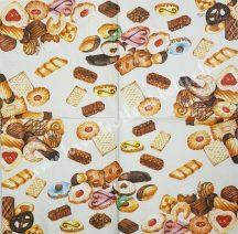 Szalvéta, édesség, aprósütemény, 32x32 cm, 1 darab