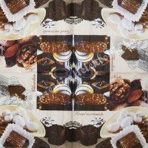 Szalvéta, édesség, bonbon, 32x32 cm, 1 darab