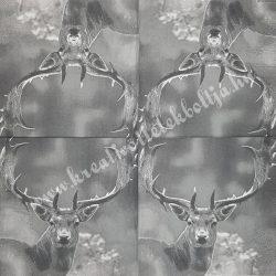 Szalvéta, erdei állatok 33x33cm (8)