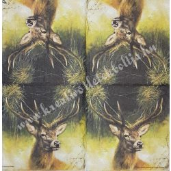 Szalvéta, erdei állatok 33x33cm (5)