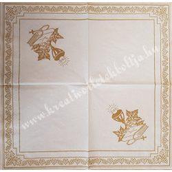 Szalvéta, esküvő 22., 33x33 cm