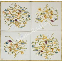 Szalvéta, esküvő, bőség, 25x25 cm (4)