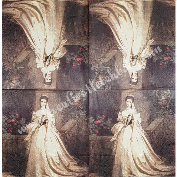 Szalvéta, festmény, 33x33 cm (3)