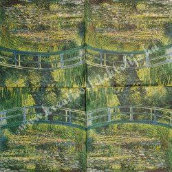 Szalvéta, festmény, 33x33cm, 1 darab
