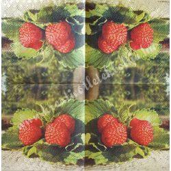 Szalvéta, gyümölcs, eper, 25x25 cm (19)