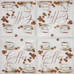 Szalvéta, kávé, tea, 33x33 cm (23)