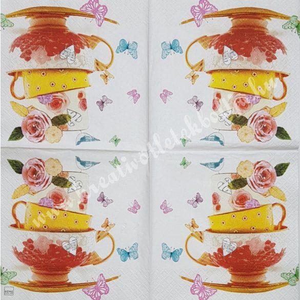 Szalvéta, kávé, tea, 33x33 cm (9)