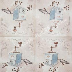 Szalvéta, kávé  tea, 33x33 cm (30)