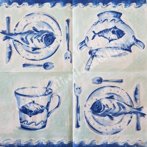 Szalvéta, konyha, tálalás, 25x25 cm (6)