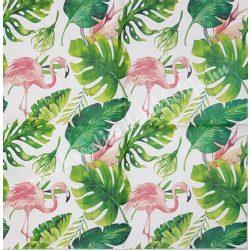 Szalvéta, madarak, flamingó, 33x33 cm (16)