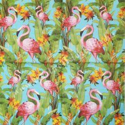 Szalvéta, madarak 17., flamingó, 33x33 cm