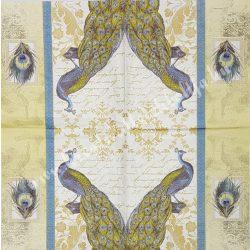 Szalvéta, madarak 2., 33x33 cm