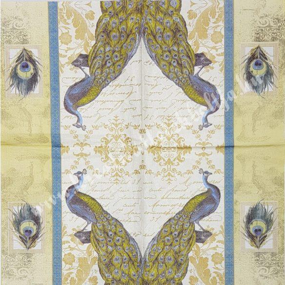 Szalvéta, madarak, 33x33 cm (2)
