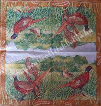 Szalvéta, madarak, 25x25 cm, 1 darab