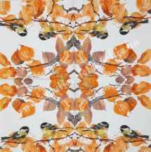 Szalvéta, madarak, 33x33 cm, 1 darab