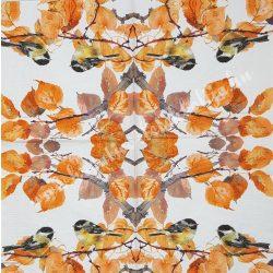 Szalvéta, madarak 32., 33x33 cm