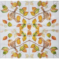 Szalvéta, madarak, 33x33 cm (33)