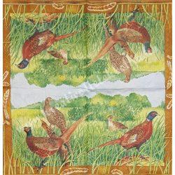 Szalvéta, madarak 9., 25x25 cm