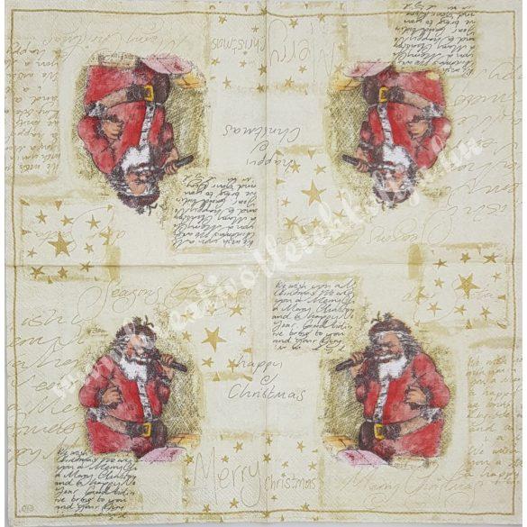 Szalvéta Mikulás, 33x33 cm (10)