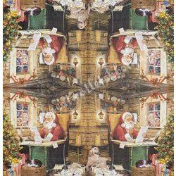 Szalvéta Mikulás, 33x33 cm (25)
