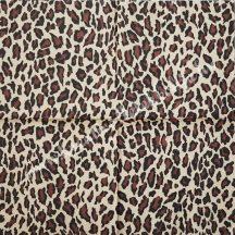 Szalvéta, mintás, leopárd, 32x32 cm, 1 darab