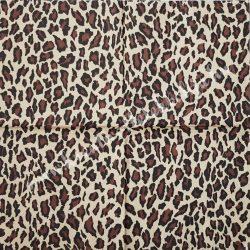 Szalvéta, mintás, leopárd, 33x33 cm (10)