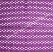 Szalvéta, mintás, pöttyös, 32x32 cm, 1 darab