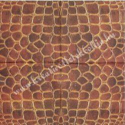 Szalvéta, mintás, pikkely, 32x32 cm, 1 darab