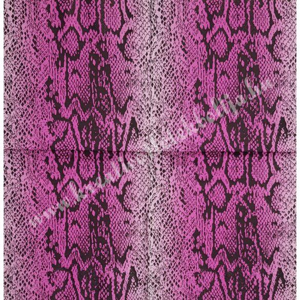 Szalvéta, mintás, hüllő, 33x33 cm (8)