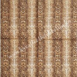 Szalvéta, mintás, hüllő, 33x33 cm (9)