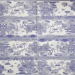 Szalvéta, országok, Kína, 33x33 cm (18)