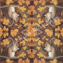 Szalvéta , Ősz 13. , 33x33 cm , 1 darab