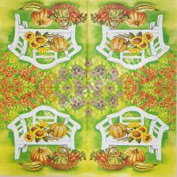 Szalvéta , Ősz 17. , 33x33 cm , 1 darab