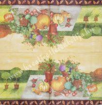Szalvéta , Ősz 20. , 33x33 cm , 1 darab