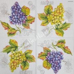 Szalvéta, Ősz, 33x33 (56)