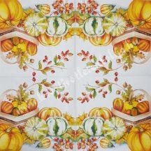 Szalvéta, Ősz 68., 33x33cm, 1 darab
