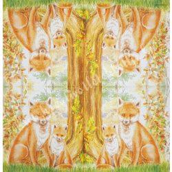 Szalvéta , Ősz 8. , 33x33 cm , 1 darab