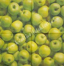Szalvéta, őszi gyümölcsök, alma, 25x25 cm, 1 darab