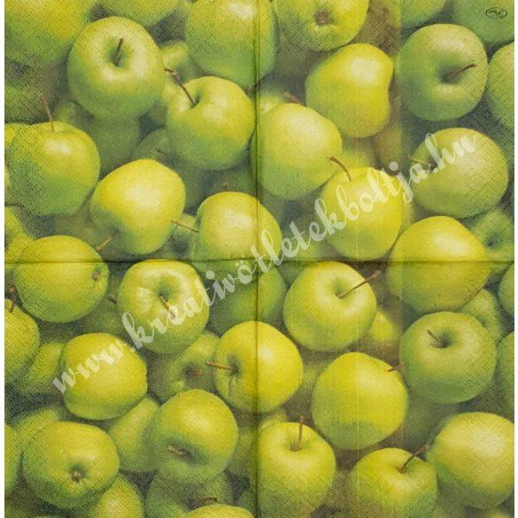 Szalvéta, őszi gyümölcs, alma, 25x25 cm (12)
