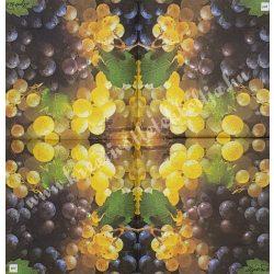 Szalvéta, őszi gyümölcs, szőlő, 25x25 cm, 1 darab